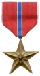Awarded the Bronze Star