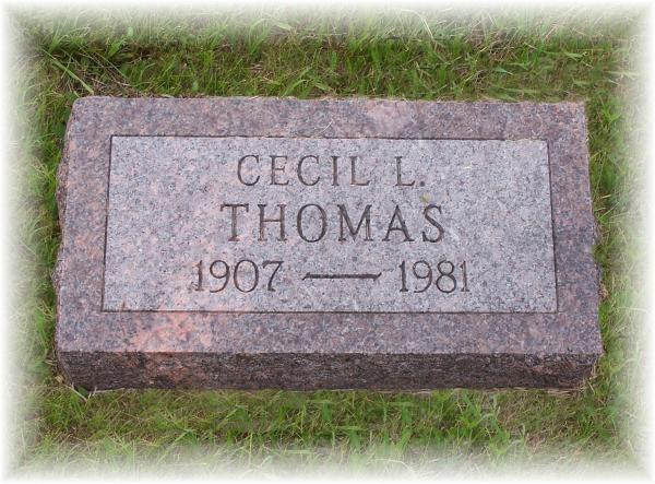 Cecil Lee Thomas