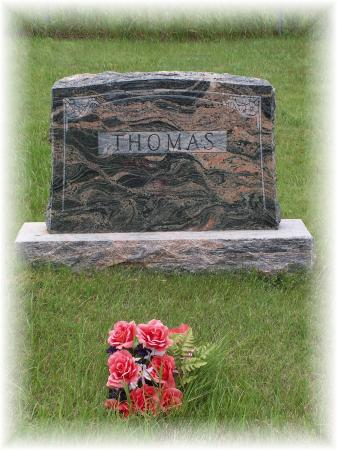 Thomas Family Head Stone