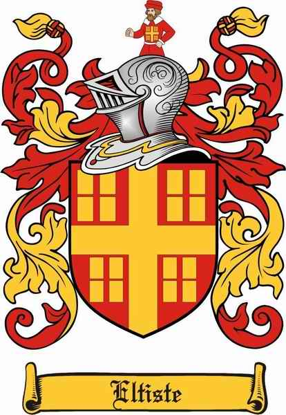 Eltiste Family Coat of Arms