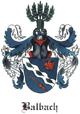 Balbach Family Coat of Arms