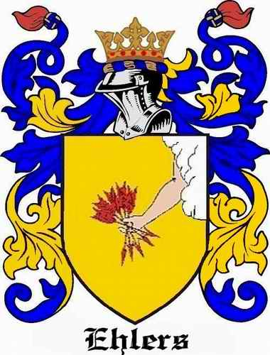 Ehlers Family Coat of Arms