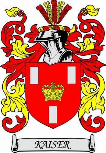 Kaiser Family Coat of Arms
